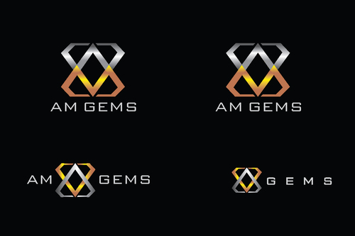 AM Gems A Logo, Monogram, or Icon  Draft # 121 by TheTanveer