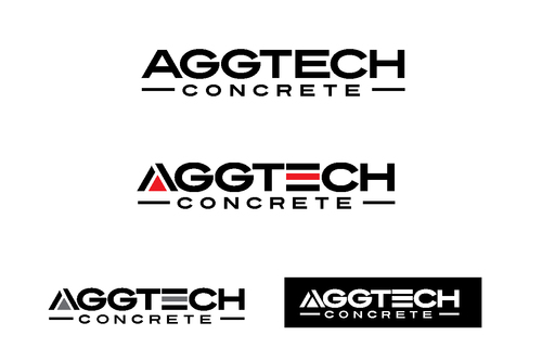 AggTech Concrete A Logo, Monogram, or Icon  Draft # 8 by TheTanveer