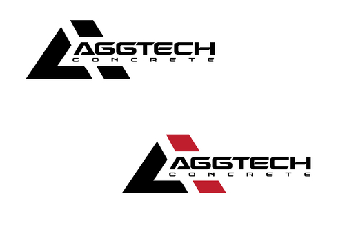 AggTech Concrete A Logo, Monogram, or Icon  Draft # 15 by TheTanveer
