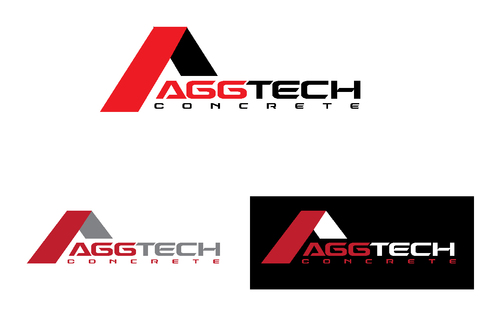 AggTech Concrete A Logo, Monogram, or Icon  Draft # 16 by TheTanveer