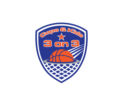 Cops & Kids 3 on 3  A Logo, Monogram, or Icon  Draft # 6 by A78design