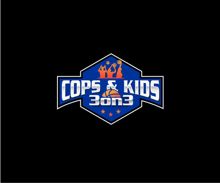 Cops & Kids 3 on 3  A Logo, Monogram, or Icon  Draft # 19 by Jake04