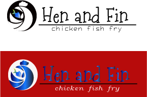 Hen and Fin A Logo, Monogram, or Icon  Draft # 63 by TheTanveer