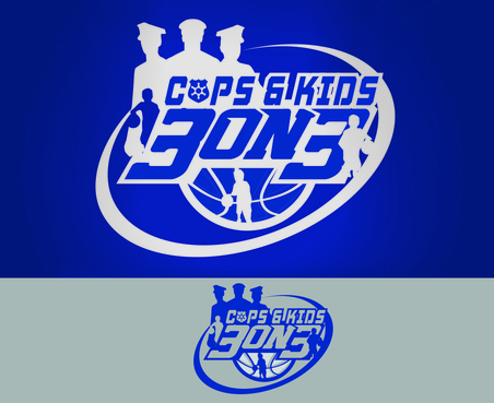 Cops & Kids 3 on 3  A Logo, Monogram, or Icon  Draft # 25 by waffle