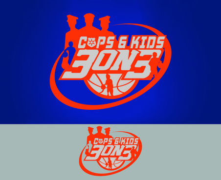 Cops & Kids 3 on 3  A Logo, Monogram, or Icon  Draft # 26 by waffle
