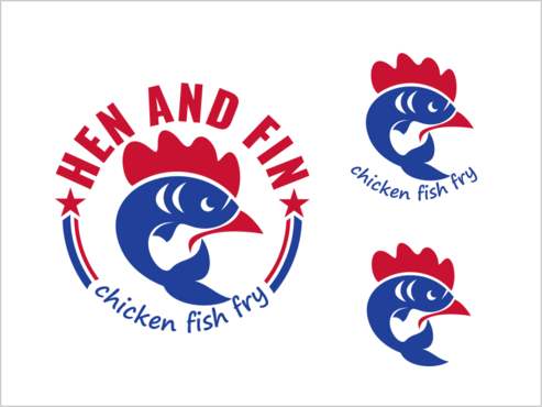 Hen and Fin A Logo, Monogram, or Icon  Draft # 94 by thebullet