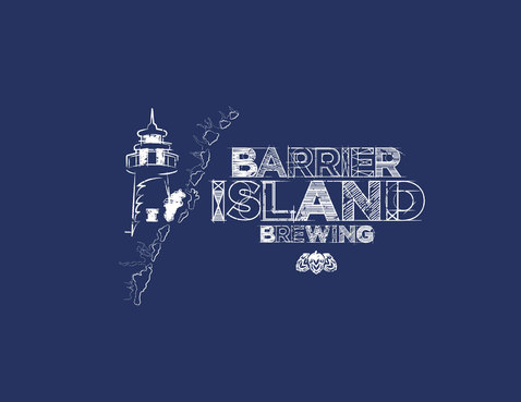 Barrier Island Brewing Logo Winning Design by leinsenap