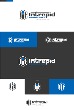 Intrepid Building Group Logo Winning Design by xhyzer