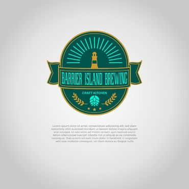 Barrier Island Brewing A Logo, Monogram, or Icon  Draft # 231 by slaptheass
