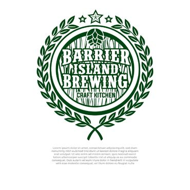 Barrier Island Brewing A Logo, Monogram, or Icon  Draft # 240 by slaptheass