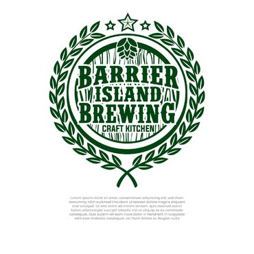 Barrier Island Brewing A Logo, Monogram, or Icon  Draft # 241 by slaptheass
