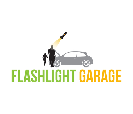 Flashlight Garage Logo Winning Design by DiscoverMyBusiness