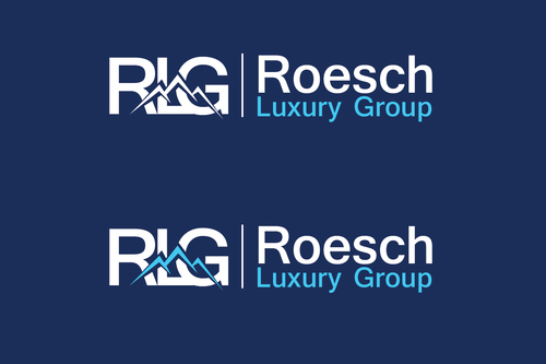 Roesch Luxury Group A Logo, Monogram, or Icon  Draft # 48 by TheTanveer