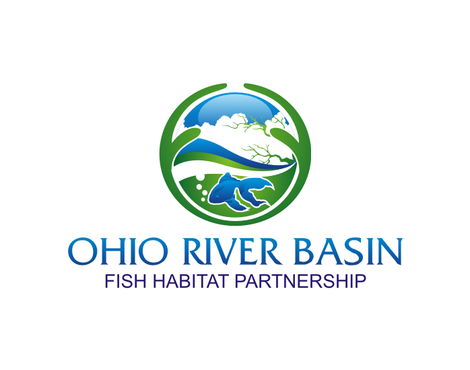 Ohio River Basin Fish Habitat Partnership or ORBFHP A Logo, Monogram, or Icon  Draft # 79 by andreydesigner