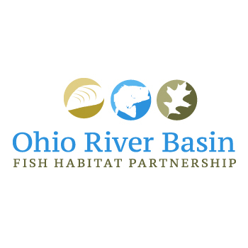 Ohio River Basin Fish Habitat Partnership or ORBFHP A Logo, Monogram, or Icon  Draft # 80 by RikkiRogersDesign