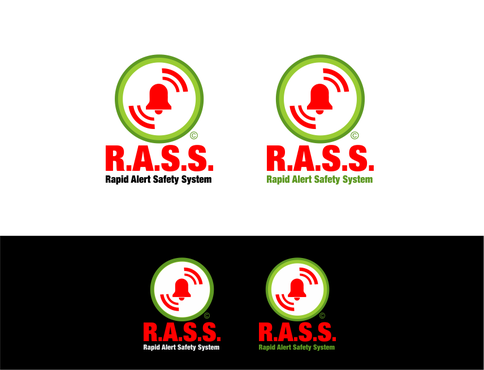 R.A.S.S. - Rapid Alert Safety System Logo Winning Design by odc69