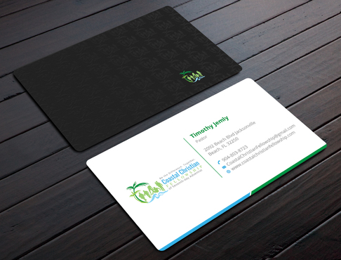 Coastal Christian Fellowship of Seventh-day Adventist Business Cards and Stationery  Draft # 107 by YADESIGN