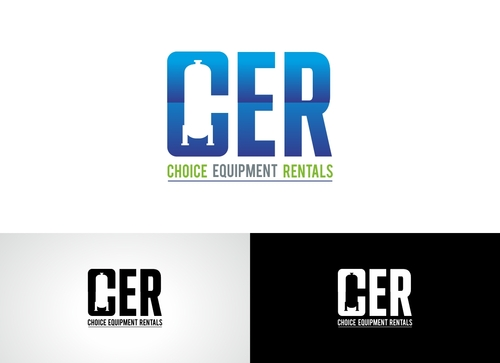 CER Short for (Choice Equipment Rentals) A Logo, Monogram, or Icon  Draft # 5 by Adwebicon