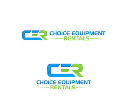 CER Short for (Choice Equipment Rentals) A Logo, Monogram, or Icon  Draft # 36 by decentdesign