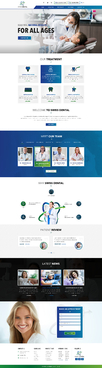 Swiss Dental Web Design  Draft # 1 by FuturisticDesign