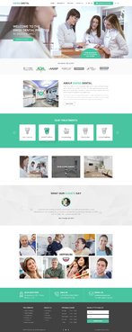 Swiss Dental Web Design  Draft # 4 by FuturisticDesign