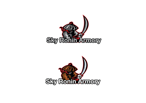Sky Ronin Armory A Logo, Monogram, or Icon  Draft # 16 by isaadansari