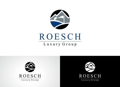 Roesch Luxury Group A Logo, Monogram, or Icon  Draft # 89 by Adwebicon