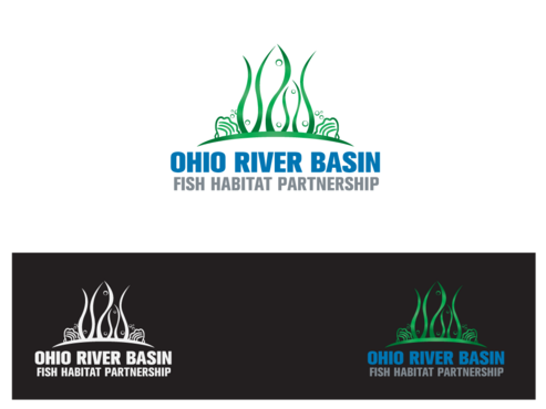 Ohio River Basin Fish Habitat Partnership or ORBFHP A Logo, Monogram, or Icon  Draft # 90 by aurelizza