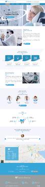 Design by jogdesigner For PSD Template for Dental Practice Website