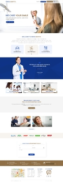 Swiss Dental Web Design  Draft # 55 by FuturisticDesign