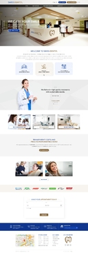 Swiss Dental Web Design Winning Design by FuturisticDesign
