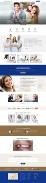 Swiss Dental Web Design  Draft # 57 by FuturisticDesign