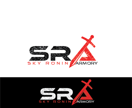 Sky Ronin Armory A Logo, Monogram, or Icon  Draft # 56 by hawkart