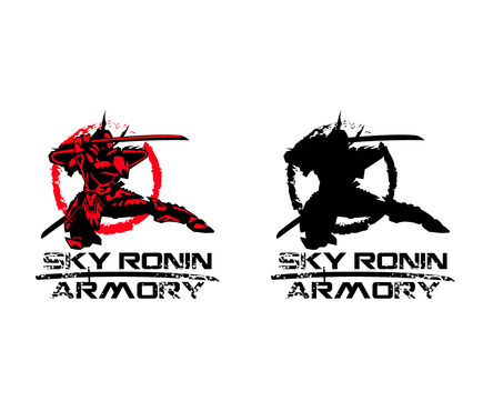 Sky Ronin Armory A Logo, Monogram, or Icon  Draft # 59 by A78design