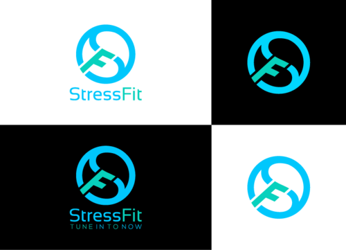 StressFit A Logo, Monogram, or Icon  Draft # 2 by FauzanZainal
