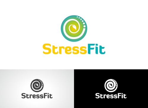 StressFit A Logo, Monogram, or Icon  Draft # 99 by Adwebicon