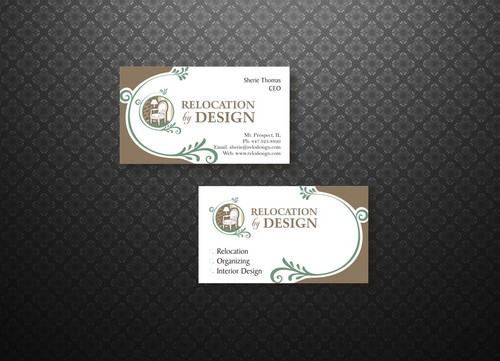 Business card for senior move management company Business Cards and Stationery  Draft # 52 by smartinfo