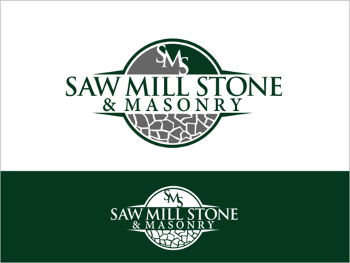 Saw Mill Stone & Masonry Supply A Logo, Monogram, or Icon  Draft # 204 by thebullet
