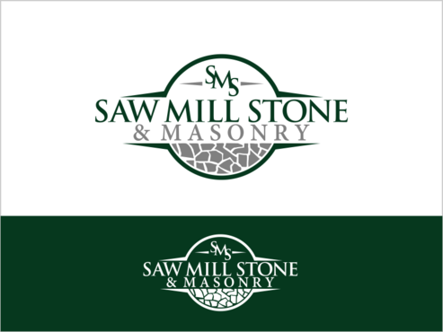 Saw Mill Stone & Masonry Supply A Logo, Monogram, or Icon  Draft # 205 by thebullet