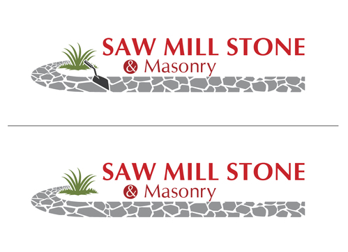 Saw Mill Stone & Masonry Supply A Logo, Monogram, or Icon  Draft # 214 by Adwebicon