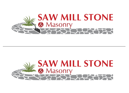 Saw Mill Stone & Masonry Supply A Logo, Monogram, or Icon  Draft # 216 by Adwebicon