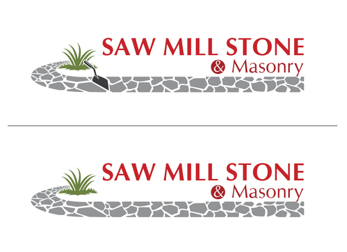 Saw Mill Stone & Masonry Supply A Logo, Monogram, or Icon  Draft # 217 by Adwebicon