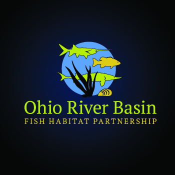 Ohio River Basin Fish Habitat Partnership or ORBFHP A Logo, Monogram, or Icon  Draft # 115 by RikkiRogersDesign