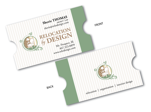 Business card for senior move management company Business Cards and Stationery  Draft # 64 by VEIcreative