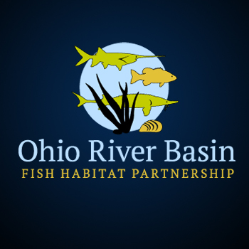 Ohio River Basin Fish Habitat Partnership or ORBFHP A Logo, Monogram, or Icon  Draft # 117 by RikkiRogersDesign