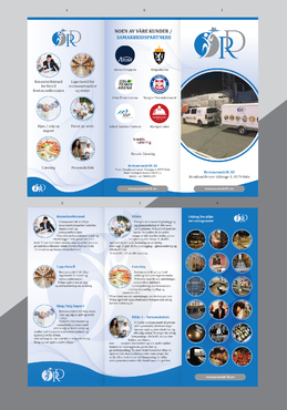 Design by Achiver For Brochure for event, catering and restaurant operation management company
