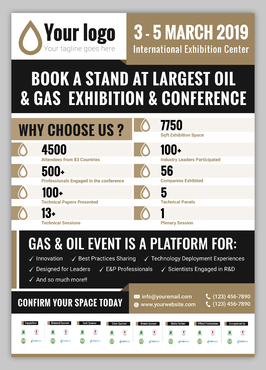 Design by Zohaibjawed For Magazine Ad for Oil and Gas company