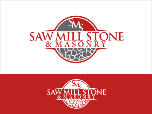 Saw Mill Stone & Masonry Supply A Logo, Monogram, or Icon  Draft # 224 by thebullet