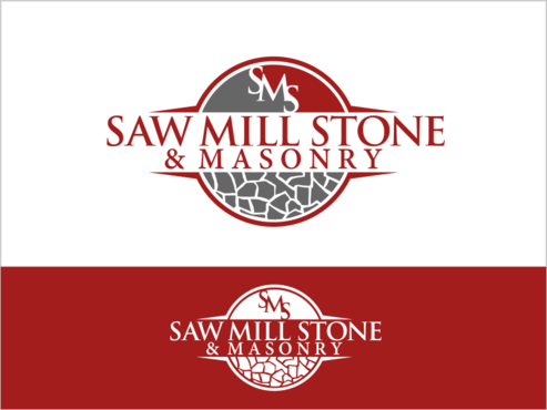 Saw Mill Stone & Masonry Supply A Logo, Monogram, or Icon  Draft # 225 by thebullet