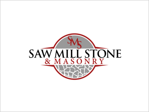 Saw Mill Stone & Masonry Supply A Logo, Monogram, or Icon  Draft # 226 by thebullet